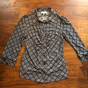 3/4 sleeve shirt by Shelli Segal